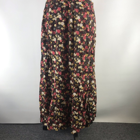 Christopher & Banks Dresses & Skirts - Christopher & Banks long floral skirt size 14